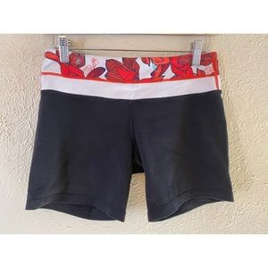 Lululemon Align Shorts with Floral Print Band